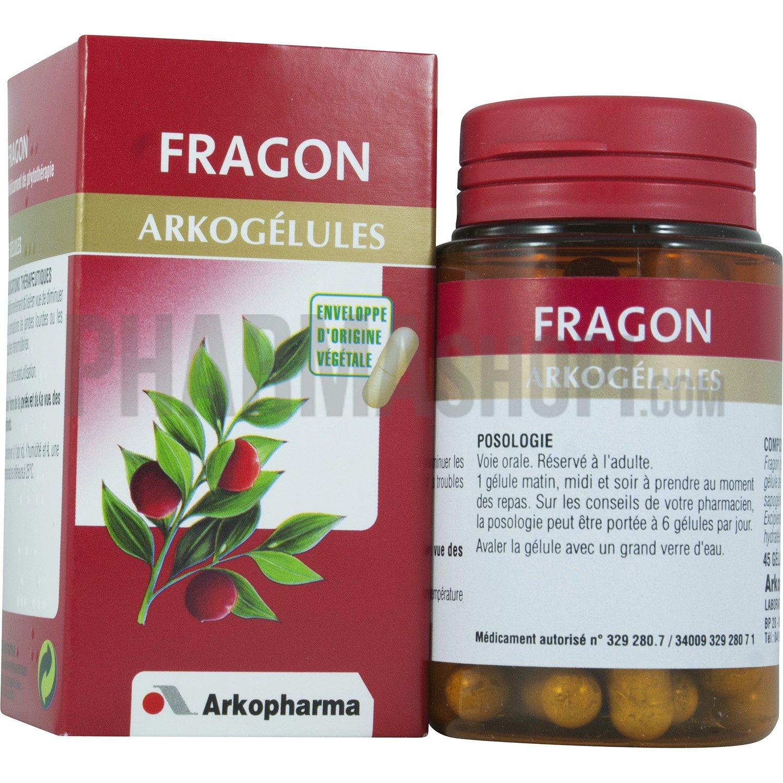 Arkopharma : Arkogélules Fragon Arkopharma, boite de 45
