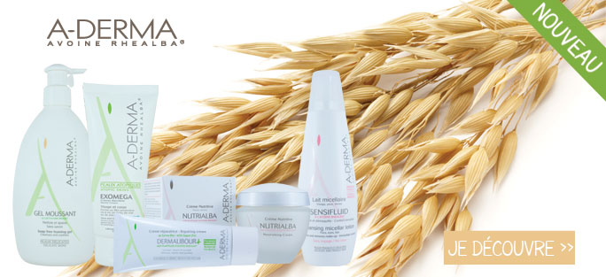 A-derma : lancement de la marque Aderma sur pharmashopi