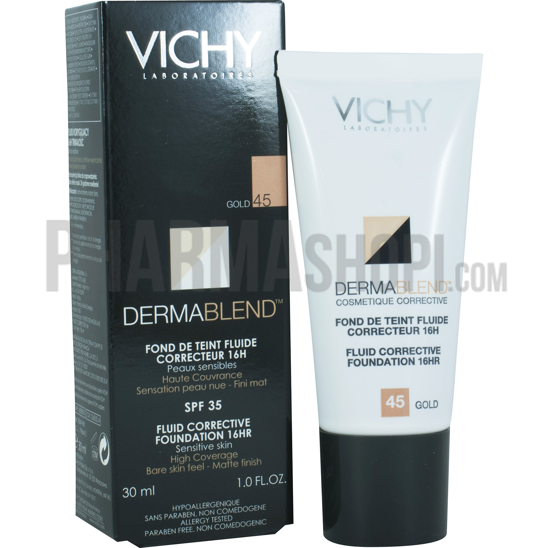 vichy c dermablend 45 tube 30ml catgorie fonds de teint. Black Bedroom Furniture Sets. Home Design Ideas