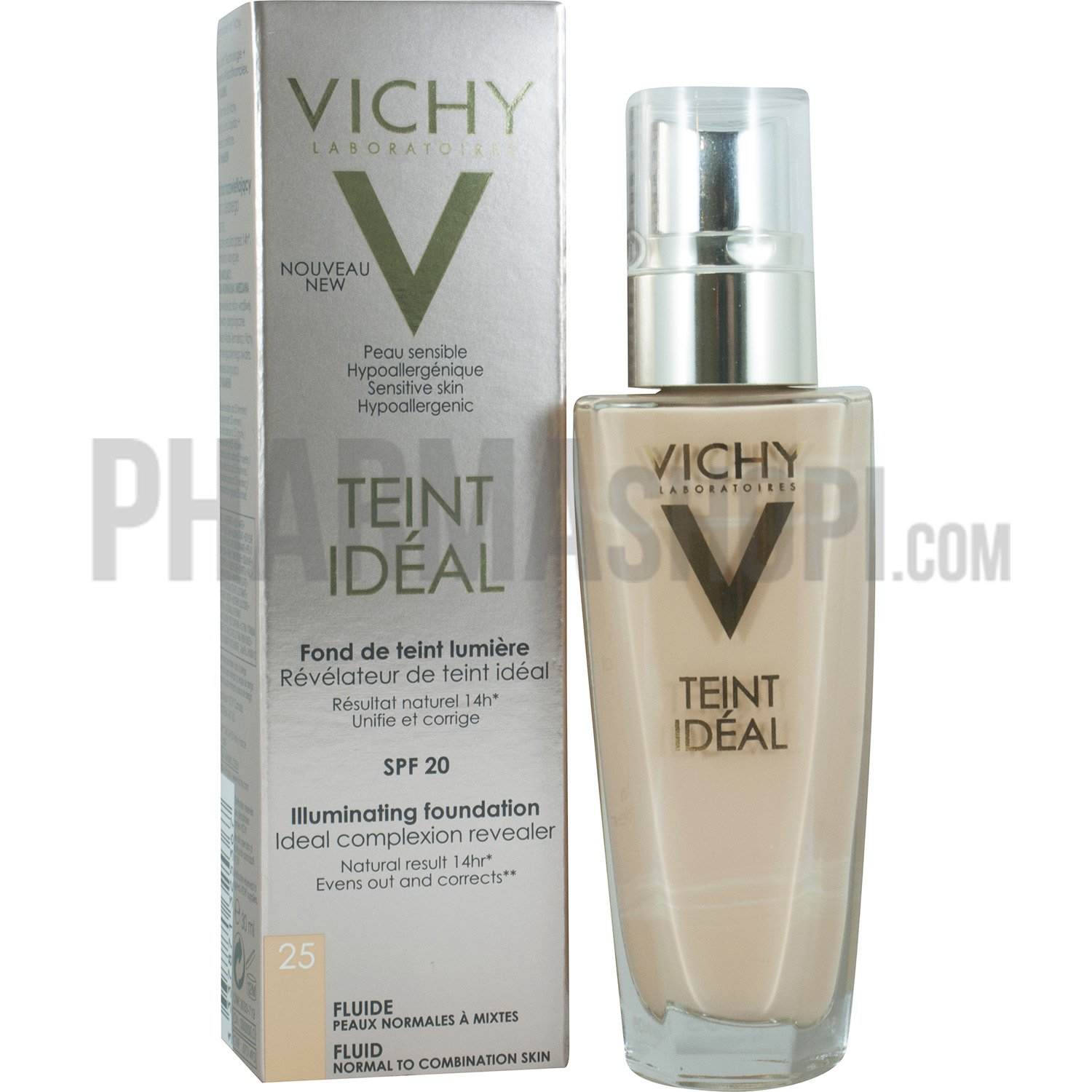 vichy teint id al fluide fond de teint lumi re spf 20. Black Bedroom Furniture Sets. Home Design Ideas