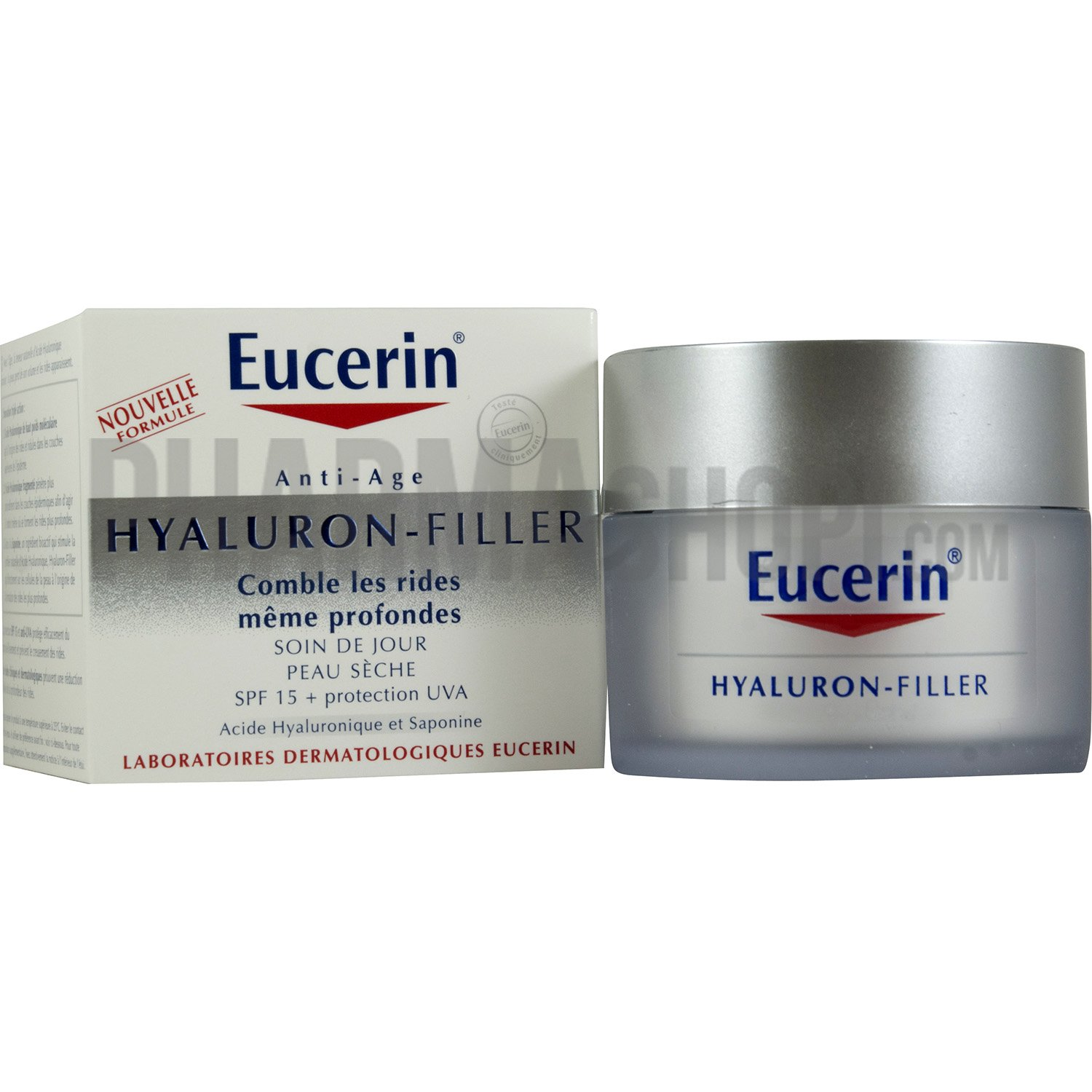 eucerin c hyaluron filler soin jour peaux sches catgorie crmes anti ge. Black Bedroom Furniture Sets. Home Design Ideas