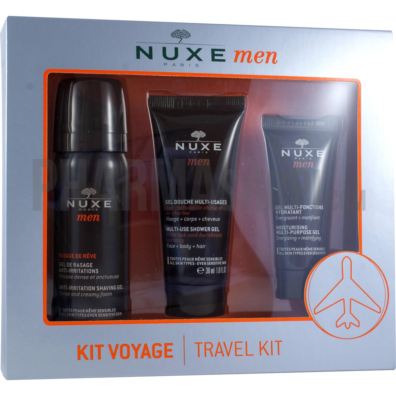 nuxe kit de voyage nuxe men 1 kit. Black Bedroom Furniture Sets. Home Design Ideas