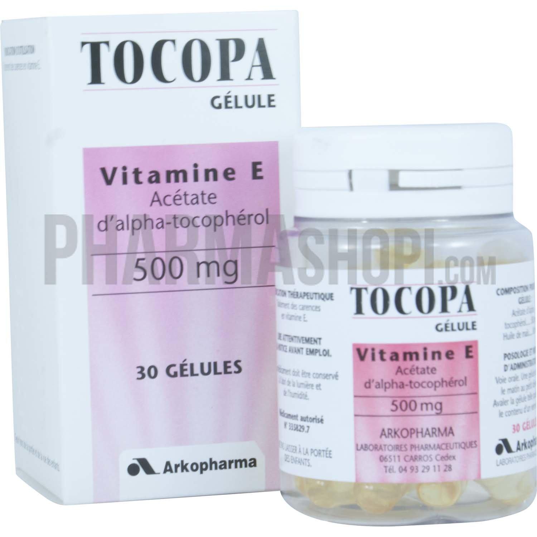 vitamine e gelule peau