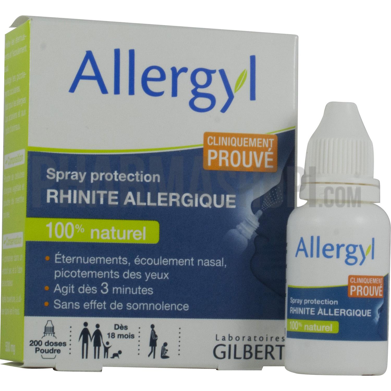 allergyl spray protection rhinite allergique flacon de 500 mg. Black Bedroom Furniture Sets. Home Design Ideas