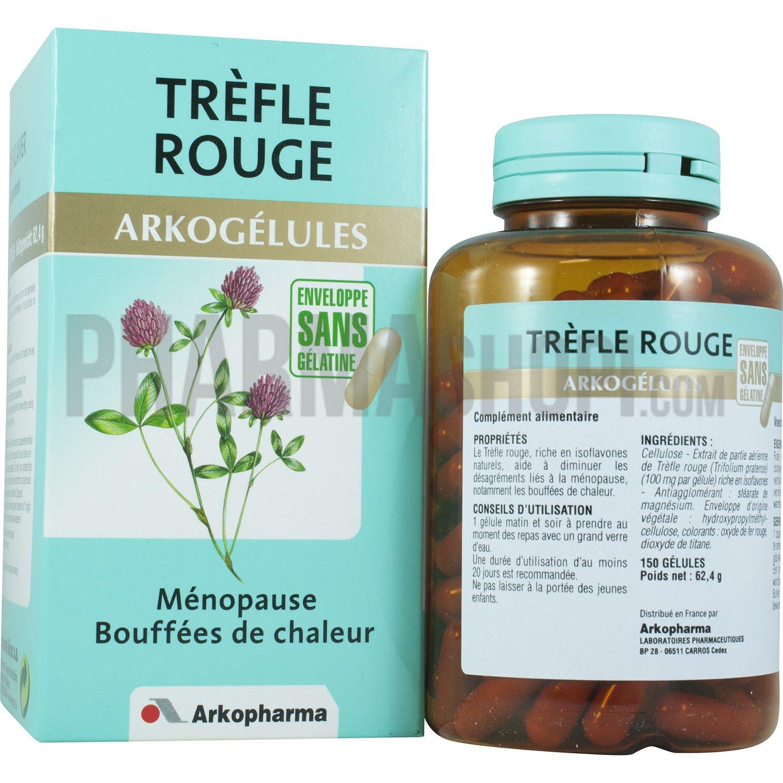 Arkogélules Trèfle rouge Arkopharma : complément