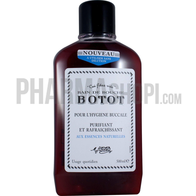Botot bain de bouche botot pour l 39 hygi ne buccale for Bain de bouche antiseptique maison