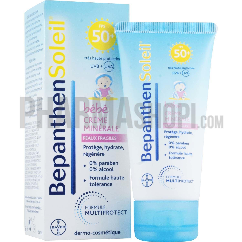 Bepanthen soleil cr me min rale b b peaux fragiles spf 50 tube de 50 ml - Bepanthen coup de soleil ...