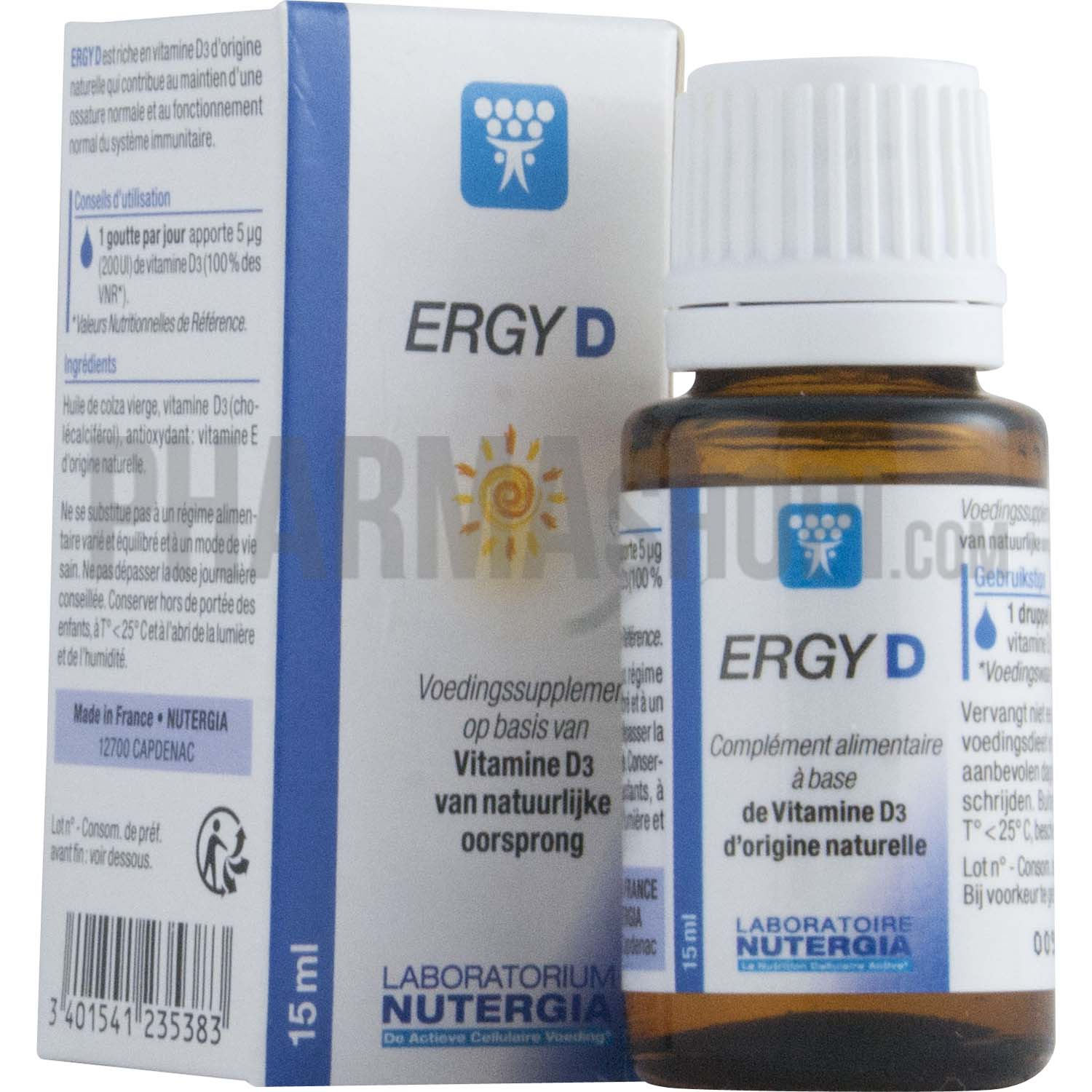 Ergy D Nutergia Booster Vos Defenses Immunitaires Naturellement