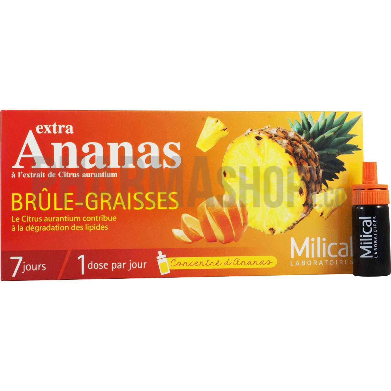 Extra ananas brûle-graisses Milical