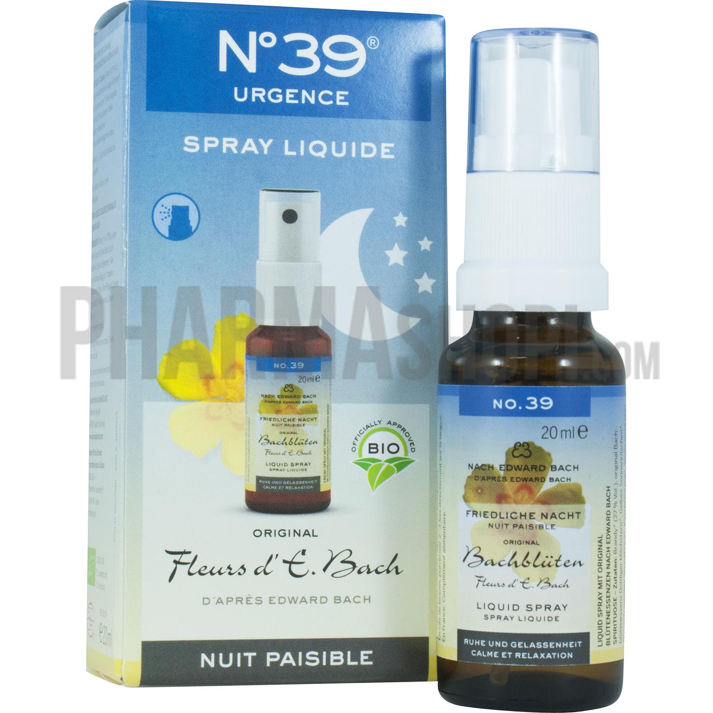 Fleurs D E Bach Nuit Paisible N 39 Lemon Pharma 20ml