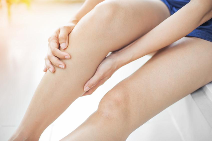 massage genou tendinite