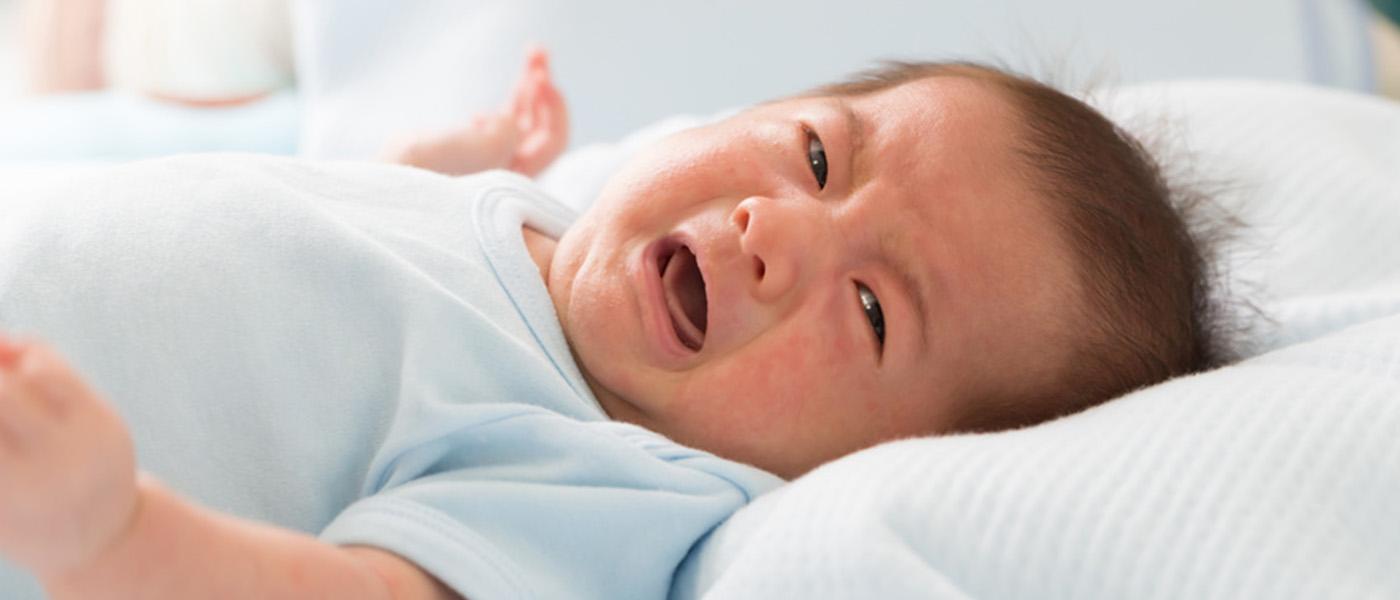 bebe avec de eczema