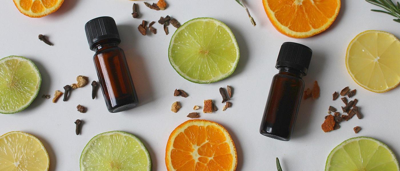 huile essentielle de citron contre les boutons