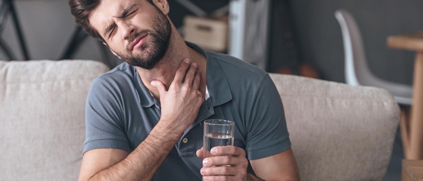 virus responsable d'une angine (mal de gorge)