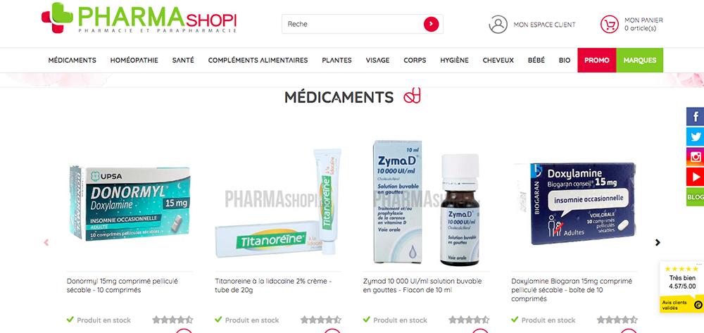 pharmashopi, parapharmacie en ligne