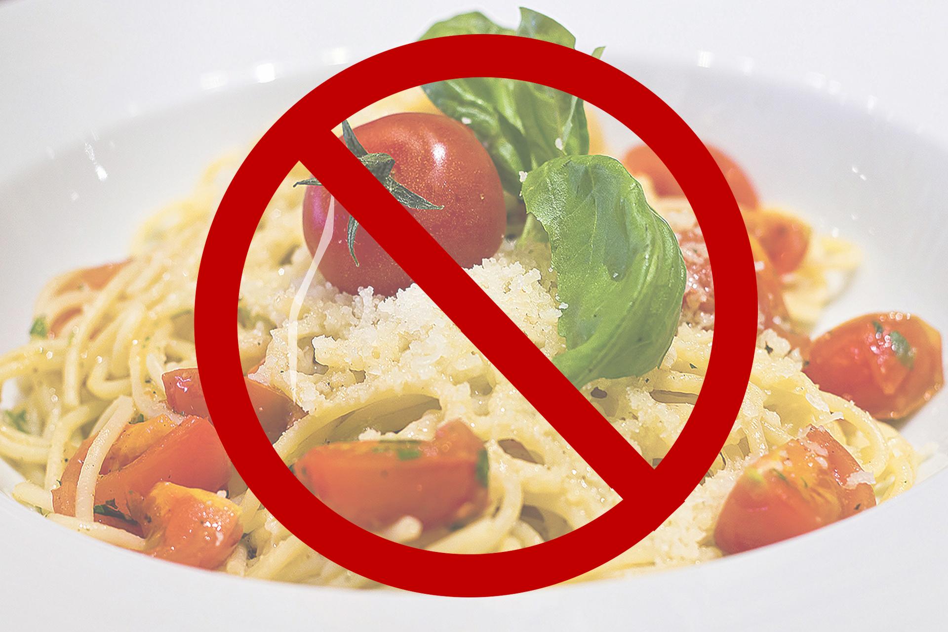 aliments interdits regime