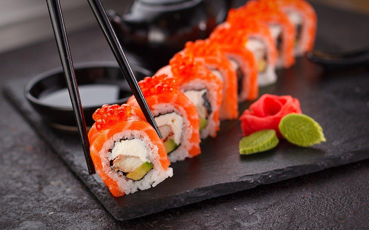sushi poissons