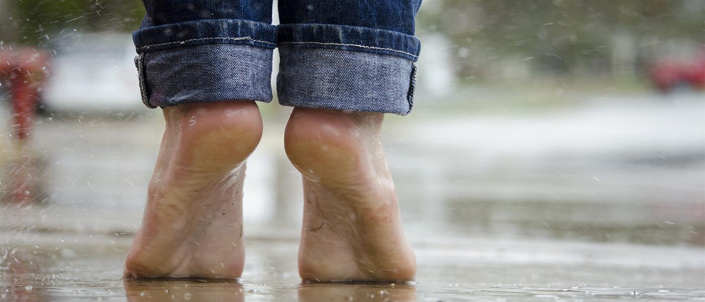 verrue sur les pieds