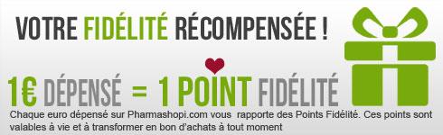 programme de fidélité  sur pharmashopi.com, cumulez des points sur votre pharmacie et parapharmacie en ligne