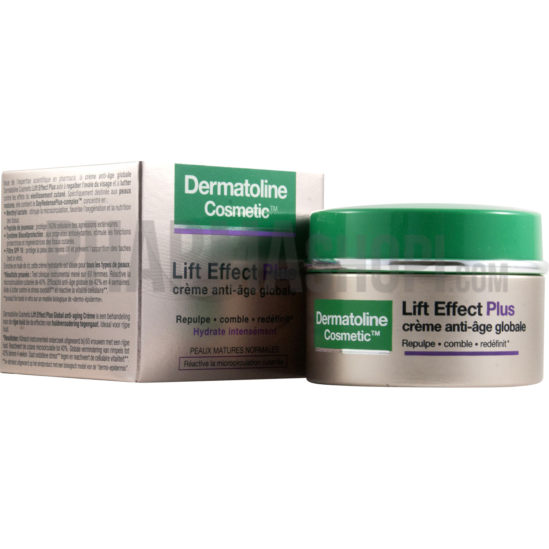 lift effect plus cr me anti ge globale dermatoline cosmetic. Black Bedroom Furniture Sets. Home Design Ideas