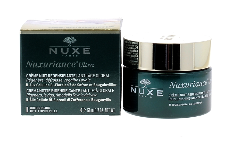 nuxe nuxuriance creme redensifiante nuit