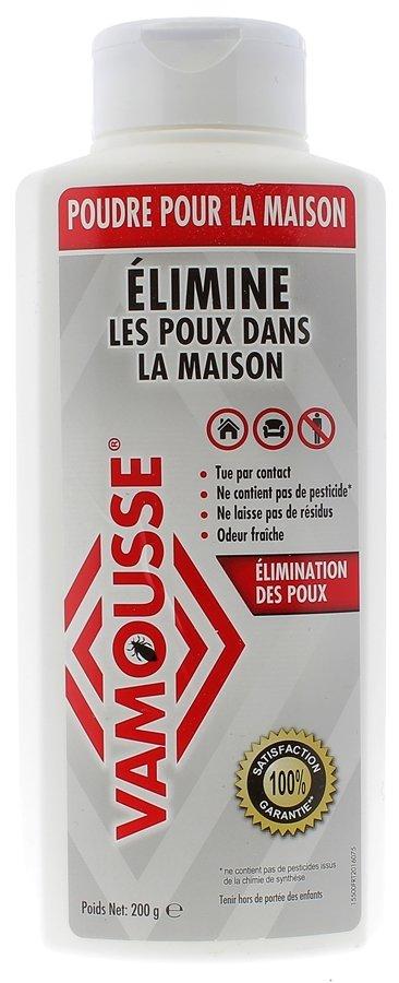 Poudre pour la maison Anti-Poux Vamousse