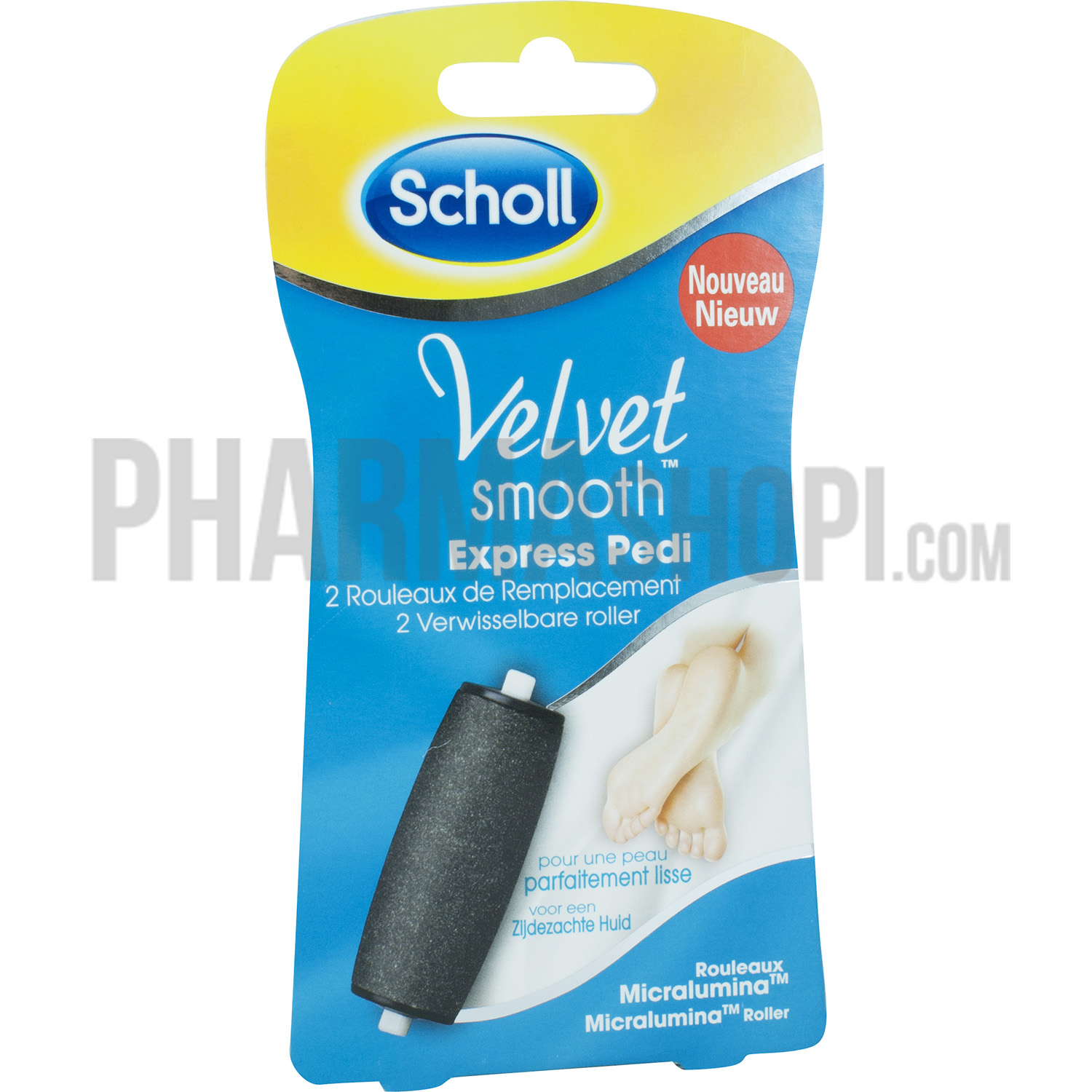 how to clean scholl velvet smooth express pedi