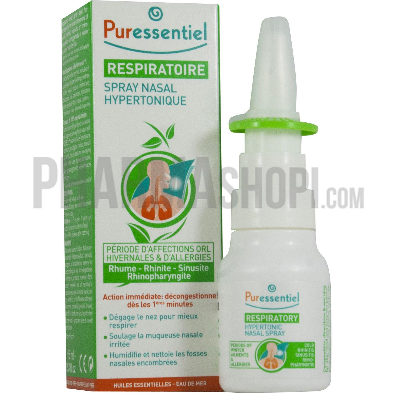 Puressentiel Spray nasal hypertonique Puressentiel respiratoire spray  #903B19