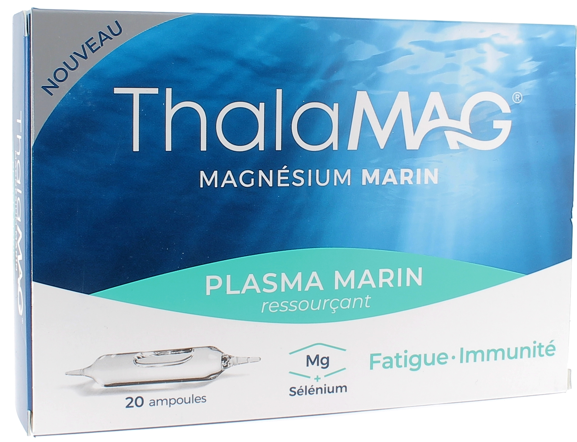 Thalamag Magnésium Marin Ressourçant