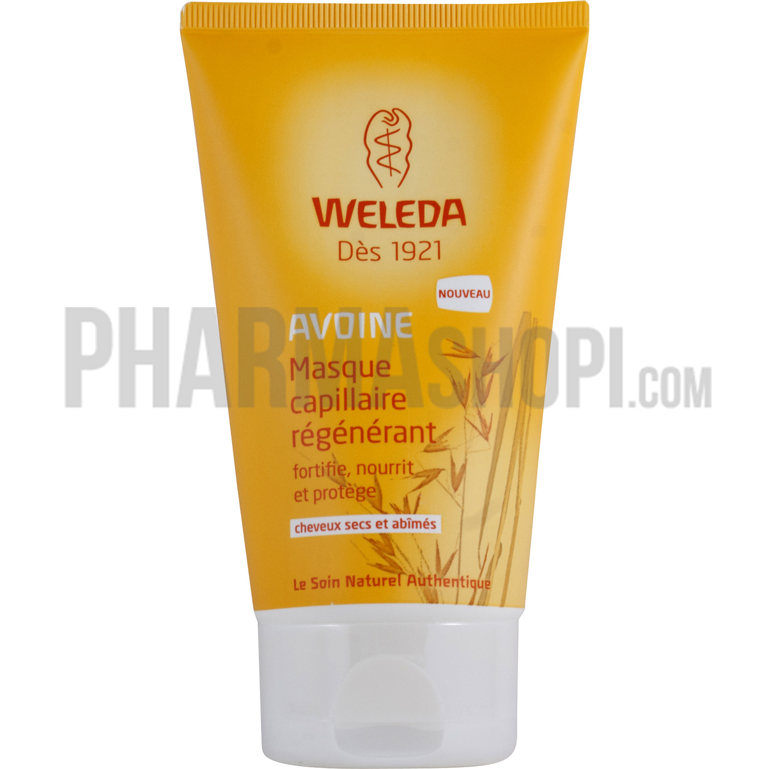 weleda masque capillaire r g n rant avoine cheveux secs et ab m s weleda tube de 150 ml. Black Bedroom Furniture Sets. Home Design Ideas