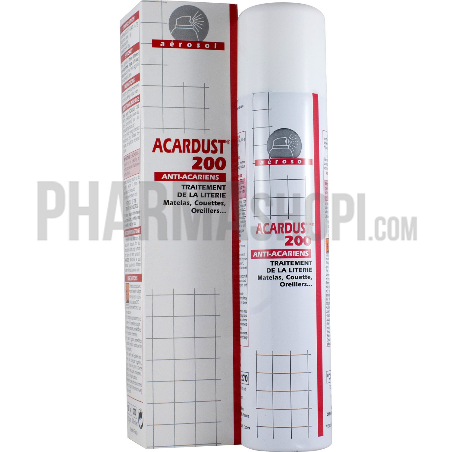 Acardust 200 Anti Acariens Spray De 200 Ml