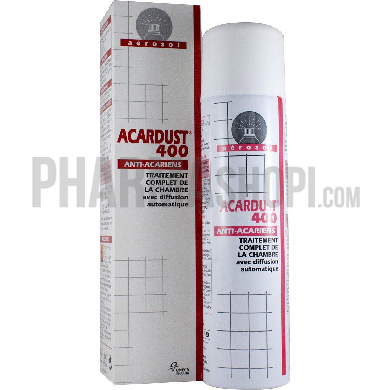 Acardust 400 anti acariens spray de 400 ml - Bombe anti acarien ...