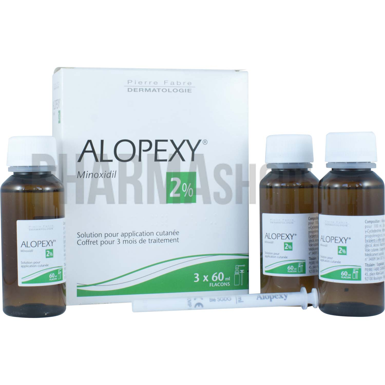 alopexy 2 solution 3 flacons contre la chute des cheveux. Black Bedroom Furniture Sets. Home Design Ideas