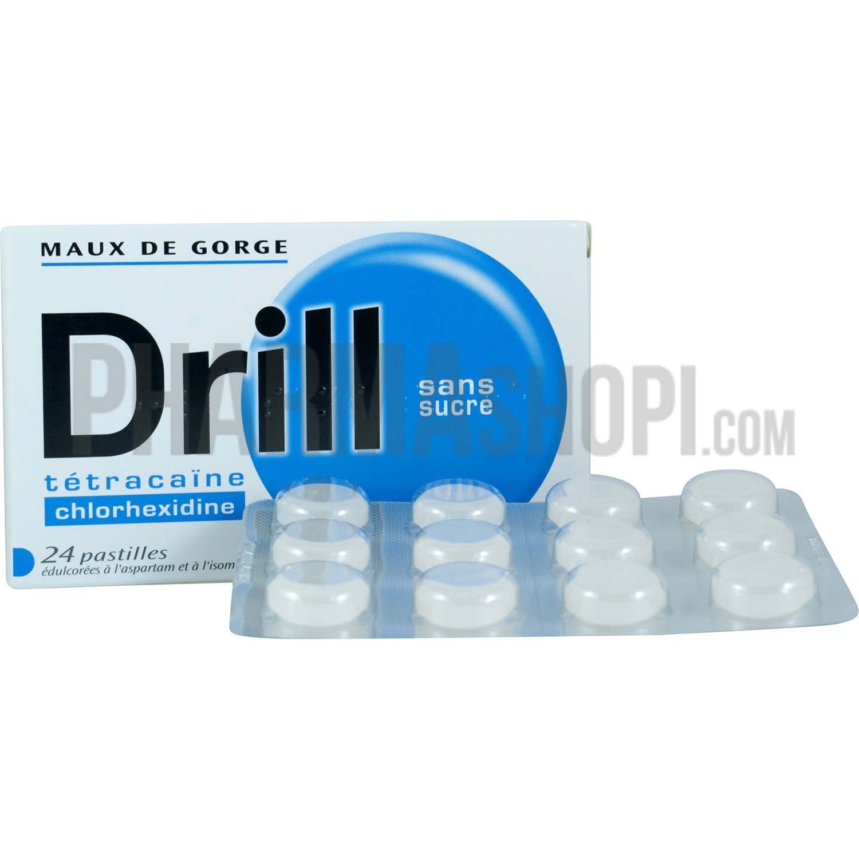 drill sans sucre pastille bo te de 24 pastilles. Black Bedroom Furniture Sets. Home Design Ideas
