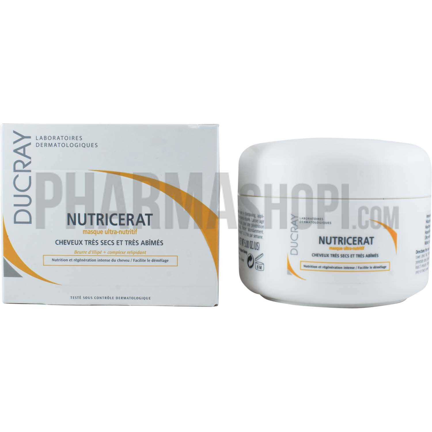 ducray nutricerat masque ultra nutritif cheveux tr s secs ducray pot 150 ml. Black Bedroom Furniture Sets. Home Design Ideas