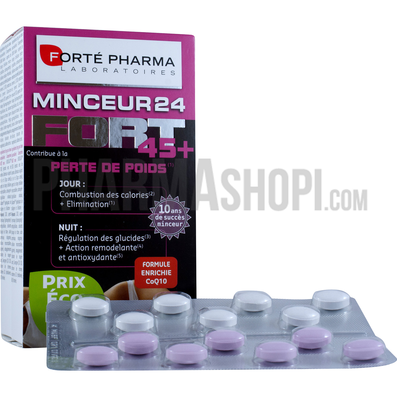 minceur 24 fort 45 perte de poids fort pharma 2 boites de 28 comprim s. Black Bedroom Furniture Sets. Home Design Ideas
