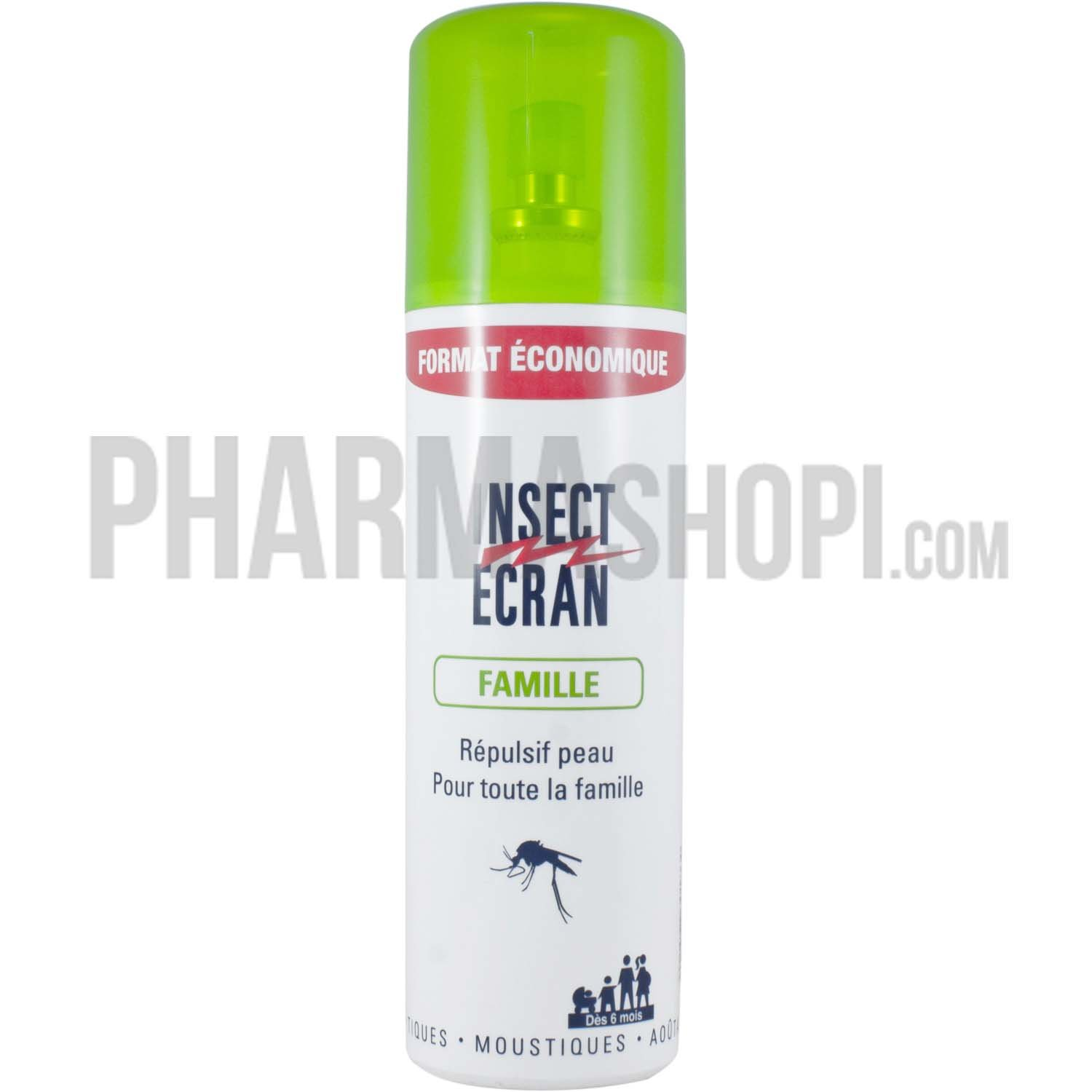 insect ecran spray r pulsif anti moustiques famille insect cran spray 200 ml. Black Bedroom Furniture Sets. Home Design Ideas
