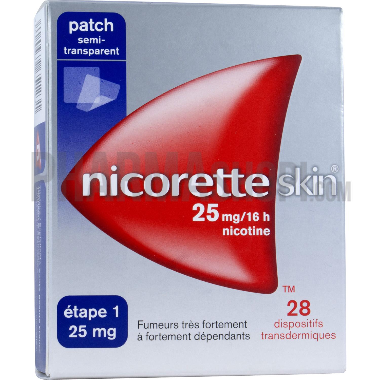 nicoretteskin 25 mg