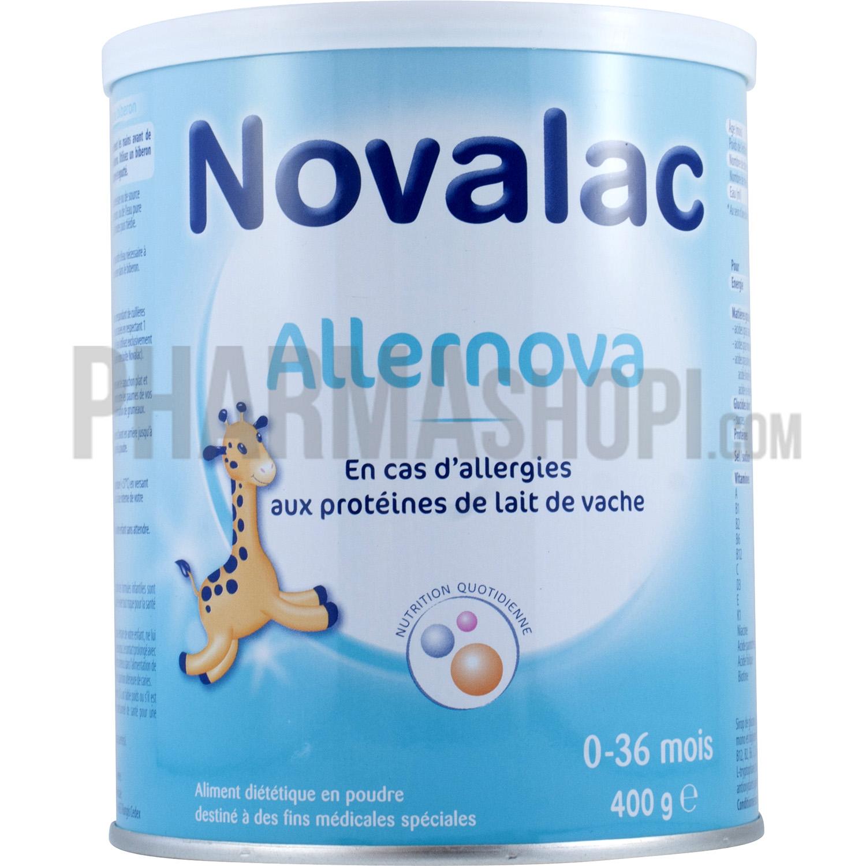 Novalac : Allernova lait en cas d'allergie 0 à 36 mois Novalac, pot ...