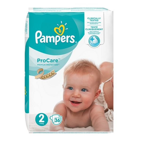 Pampers Procare Premium Protection Couches Taille 2 3 6 Kg 36