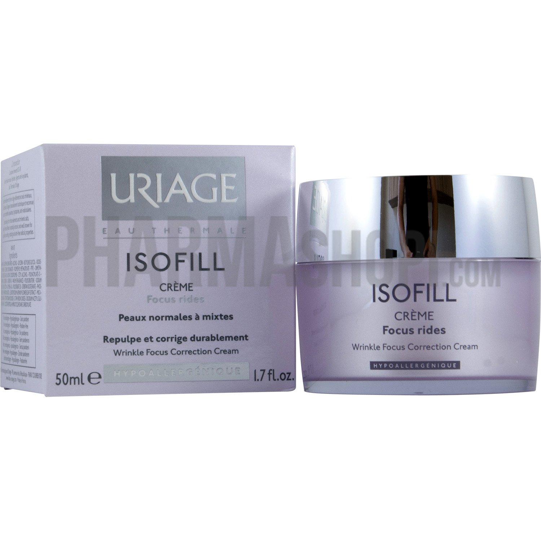 isofill cr me focus rides peaux normales mixtes uriage pot de 50 ml. Black Bedroom Furniture Sets. Home Design Ideas